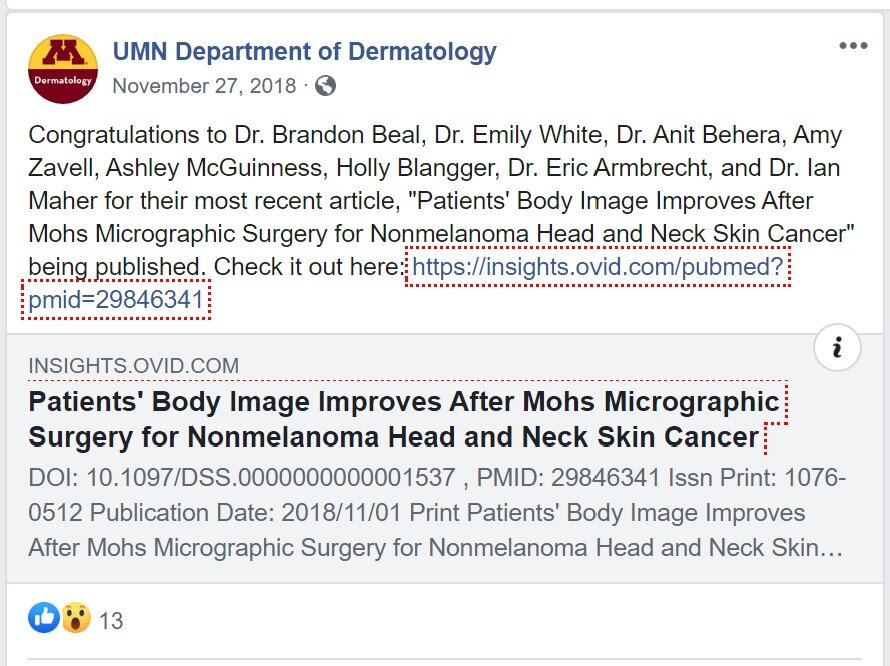 umn dermatology post